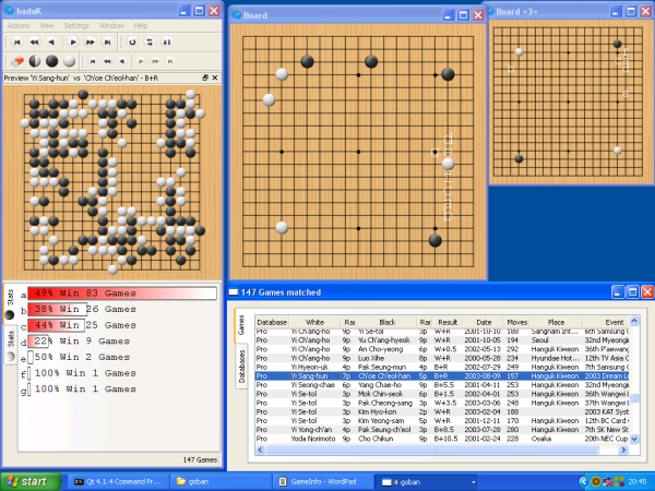 A windows port of baduK
